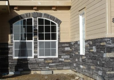 Country Ledgestone Black Rundle (10)